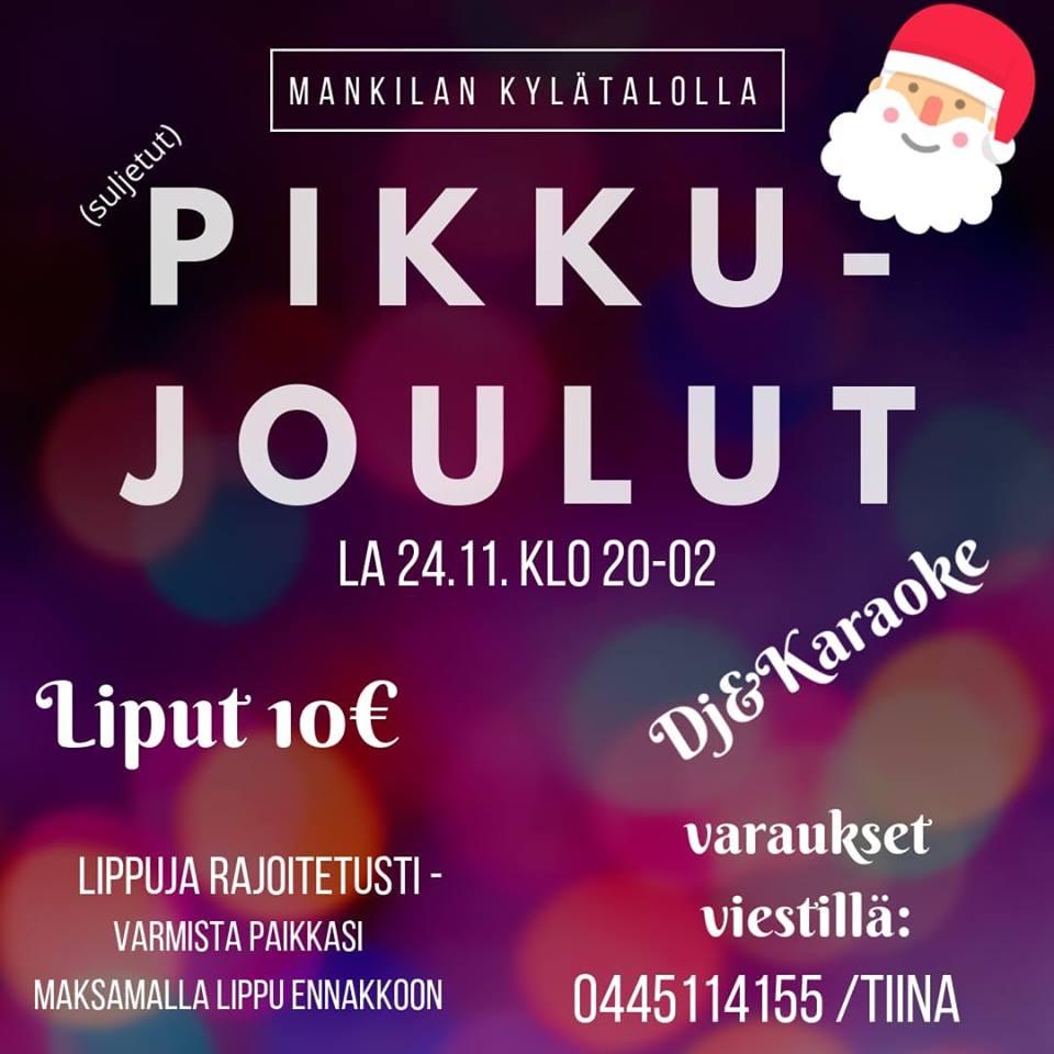 Pikkujoulut @ Mankilan Kylätalo